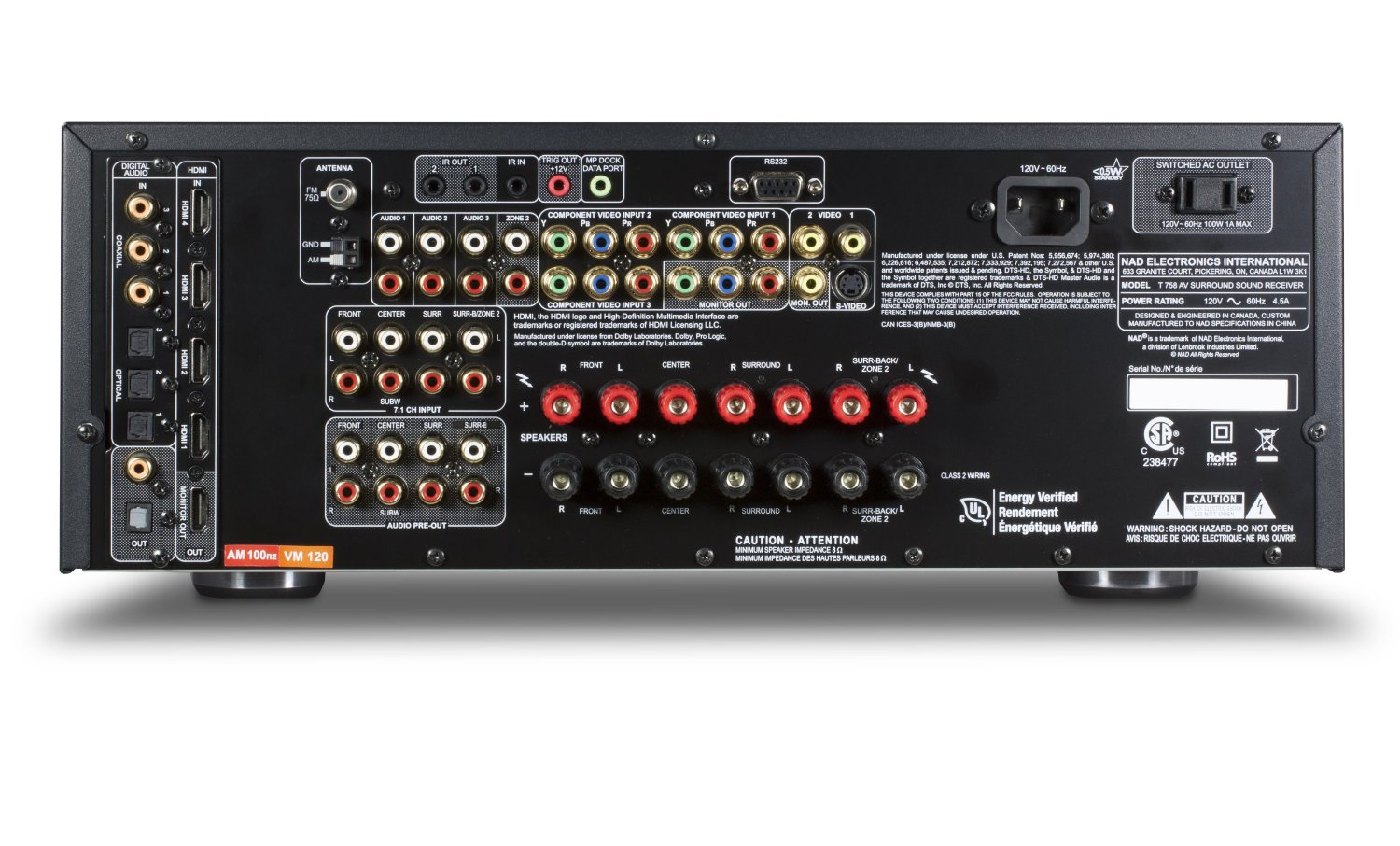Nad T 758 Surround Receiver Review Latest Led Tv Reviews