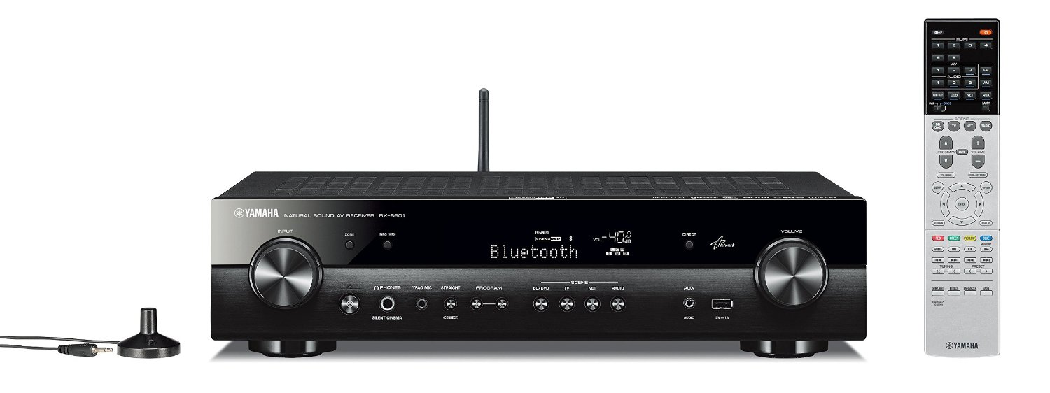Yamaha rx s601bl receiver review latest led tv reviews for Yamaha tv receiver
