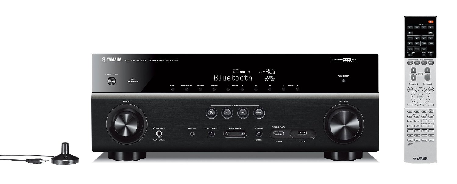 yamaha rx v779bl 7 2 channel musiccast av receiver review