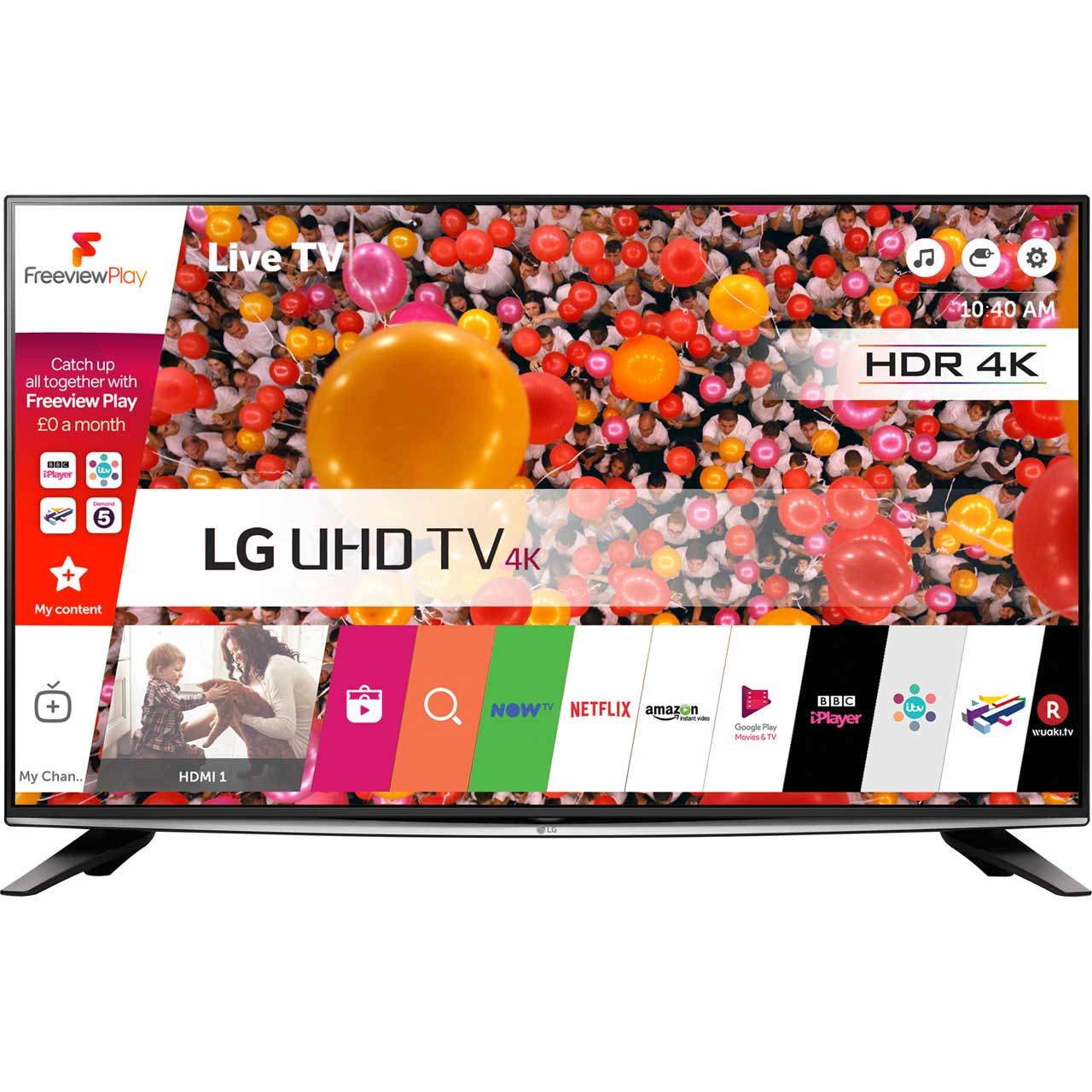 LG 58UH635V Freeview Play Smart 4K Ultra HDR TV Review