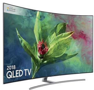 Samsung Q8C Curved QLED 4K Ultra HDR 1500 Smart TV Review